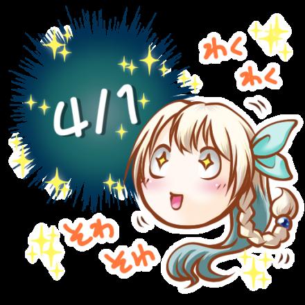仮想通貨MOLD公式キャラクター「モルカ(Molca)ちゃん」Telegramステッカー_03